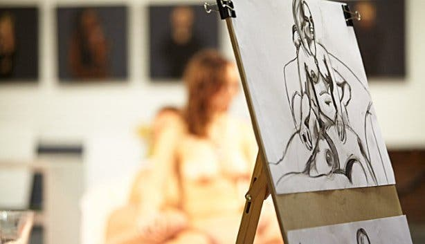 Monday Life Drawing Classes at Bright Art Studio