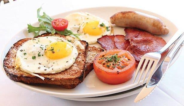 All you can eat breakfast buffet at Cafe Extrablatt