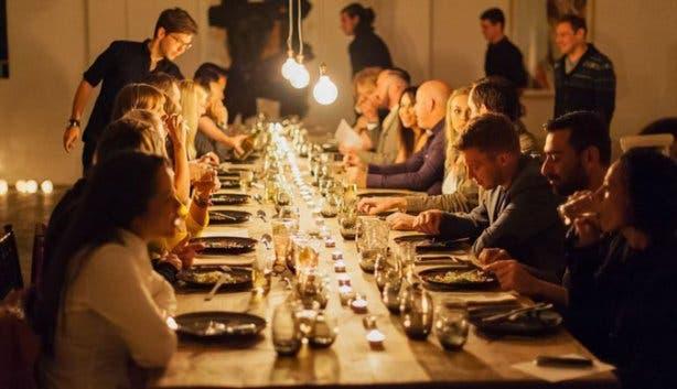 Spasie Underground Restaurant Table Cape Town