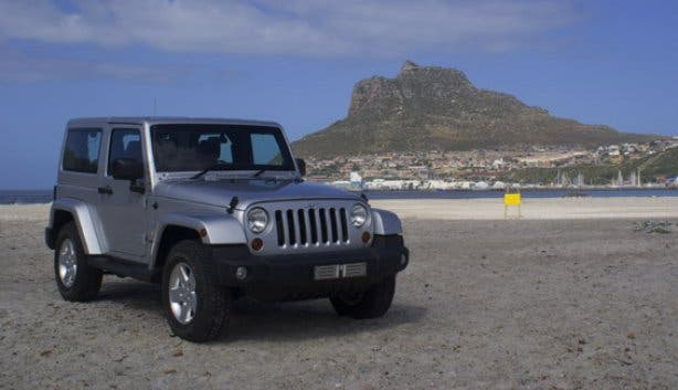 Jeep Wrangler Luxury Rental Cape Town