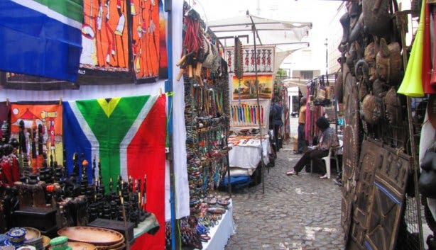 Greenmarket Square African Stall 8