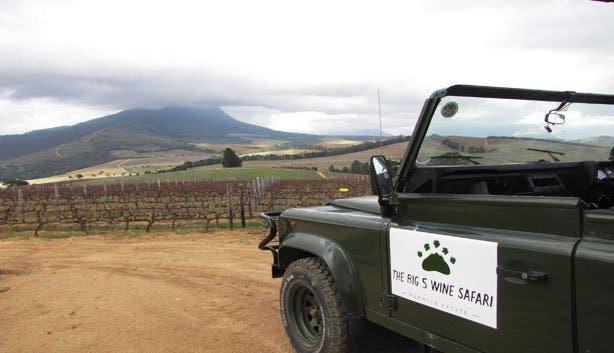 Warwick wine estate safari