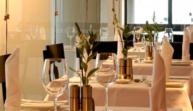 CinCin Restaurant table setting