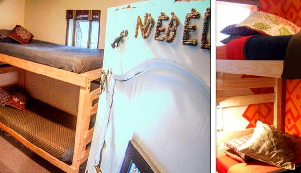 African Heart Backpackers Dorm Rooms