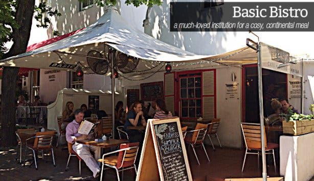 Basic Bistro Restaurant in Stellenbosch