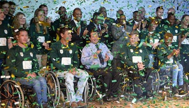 Paralympians Team SA 3