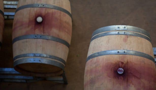 De Grendel Wine Farm Barrels