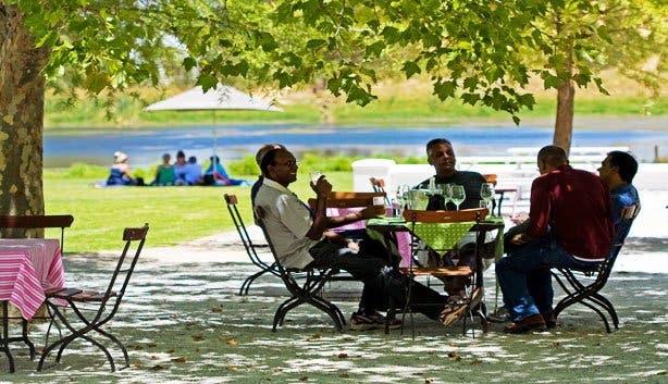 Warwick wine estate food