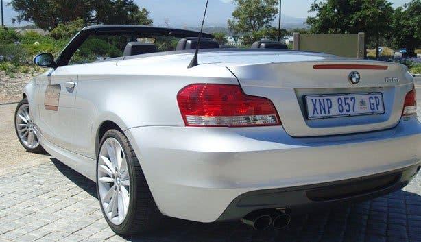 BMW 135i Cab