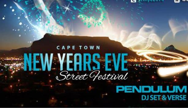 2014-2015 New Year\'s Eve Street Festival feat. Pendulum in Cape Town ...