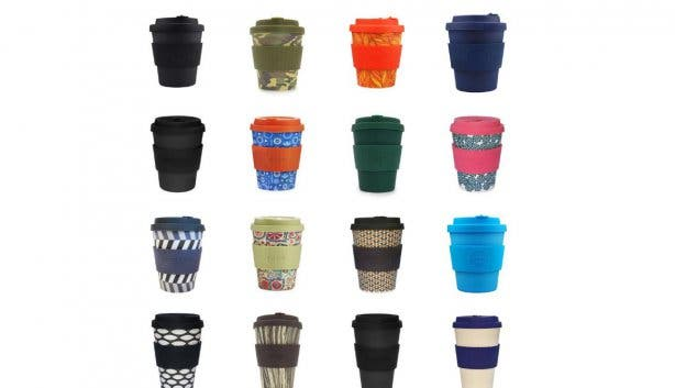 recycleble coffee cup