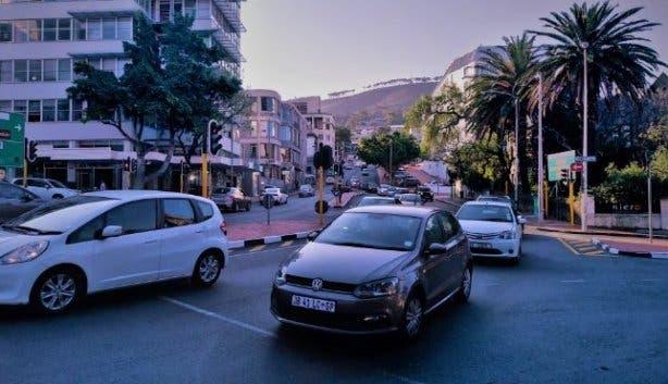 street driving car