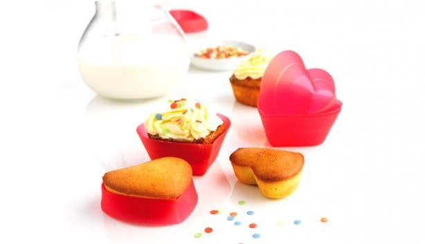 Valentine's Day Valentines cupcakes