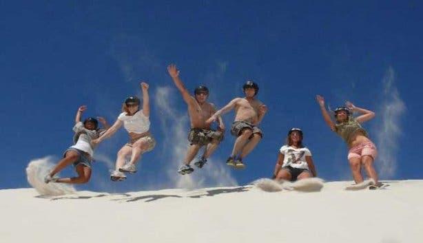 Sandboarden Kaapstad