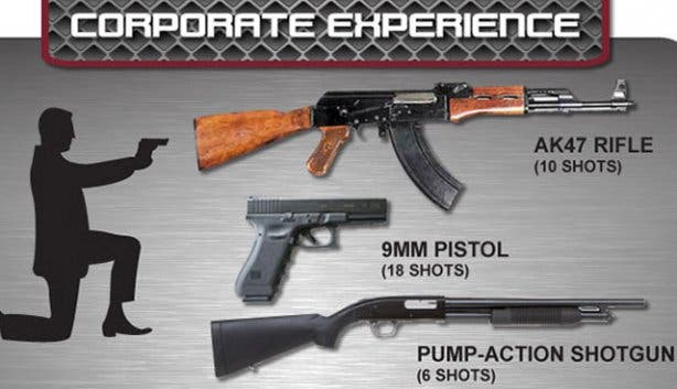 Gun Fun team building and year-end party packages