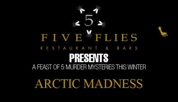 five flies murder mysteries winter arctic madness