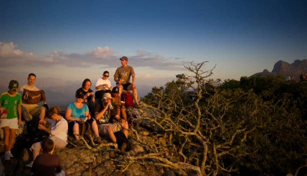 Hi-Tec NYE Sunset Hike 1