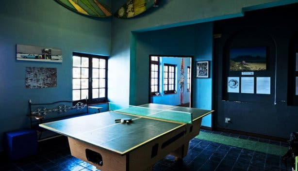 African Soul Surfer Backpackers Game Room in Cape Town
