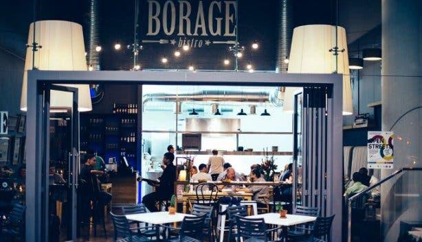 Borage Bistro in Cape Town