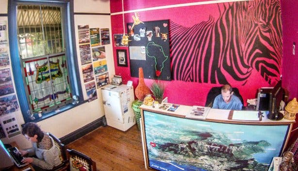 African Heart Backpackers Reception