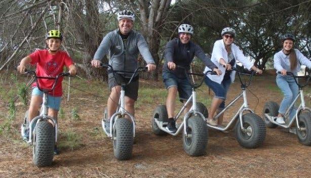 Scootours Flow Trail family-friendly adventure