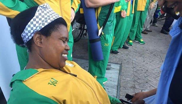 Paralympians Team SA 1