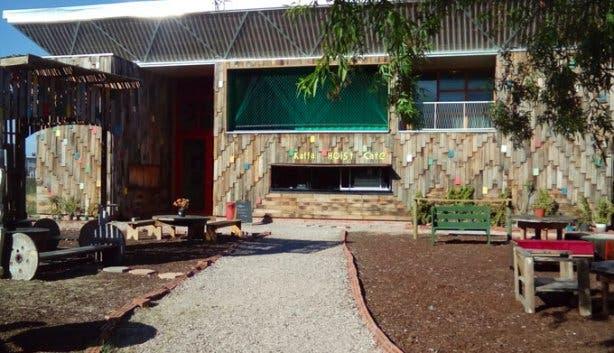 Kaffa Hoist Cafe Exterior