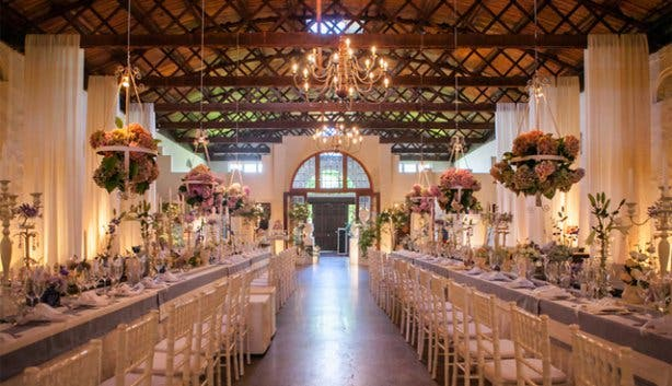 Nooitegedacht Indoor Wedding Venue Cape Winelands