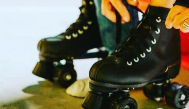 Rollercade battery park skate rink