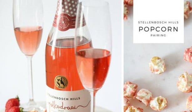 Stellensbosch Hills Popcorn and Wine Pairing Valentine's Day Overview 2018