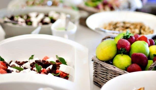 Franschhoek Summer Wines harvest table