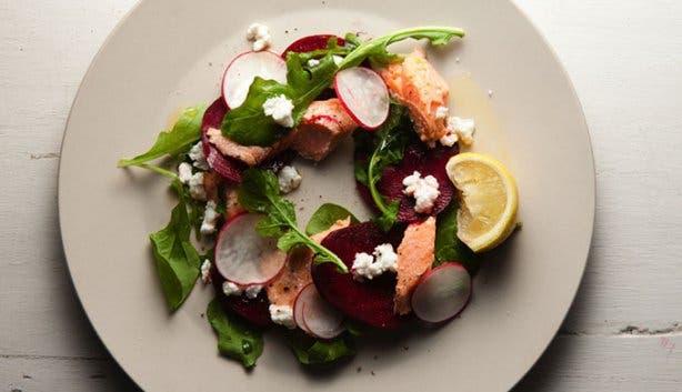 The Larder Cafe salad