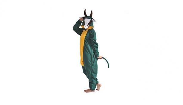 aFREAKa Clothing Adult Springbok Onesie