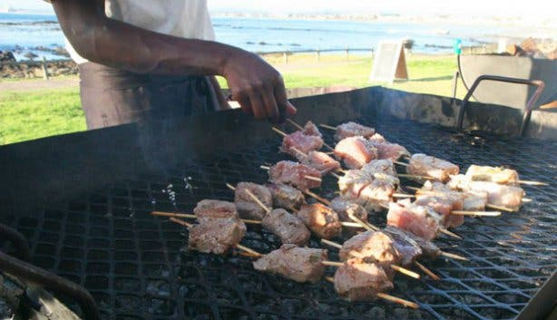First Fridays braai at Castella Amare restaurant