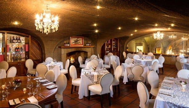 Haute Cabriere Restaurant Interior