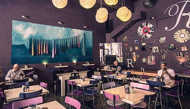 RCaffe Restaurant Long Street