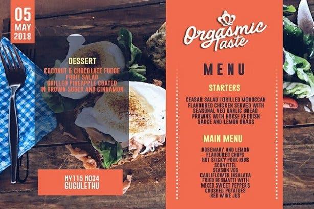 orgasmic gawulo menu