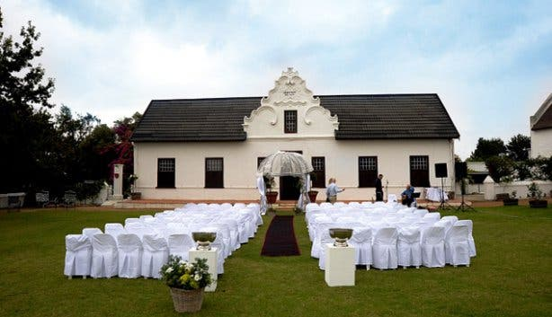 Hazendal Winelands Wedding Venue