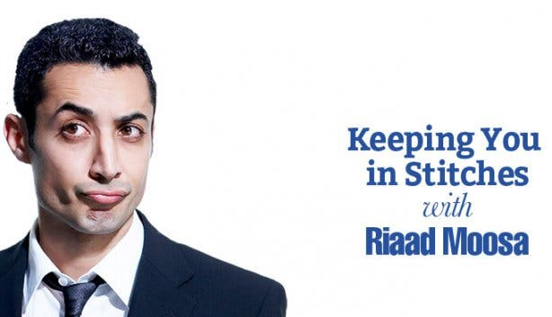 Keeping You in Stitches Riaad Moosa Comedy Show