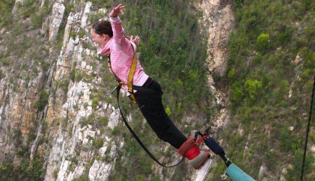 Wiebke Schulz Bloukrans Bridge Bungy Jumping