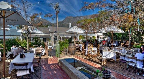 Restaurant Paradiso Kaapstad