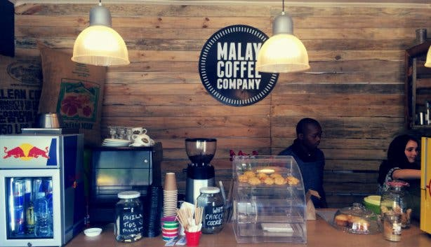 Malay Coffee Company in Cape Town
