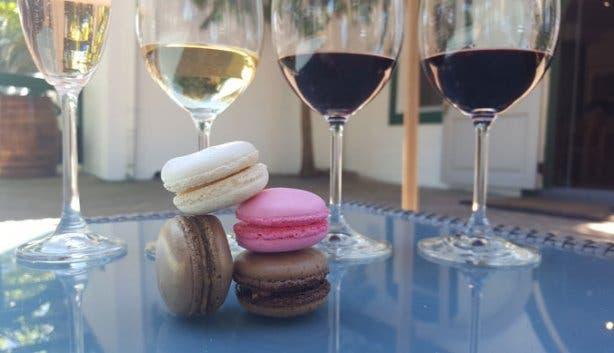 Avontuur Wine and Macaron Pairing