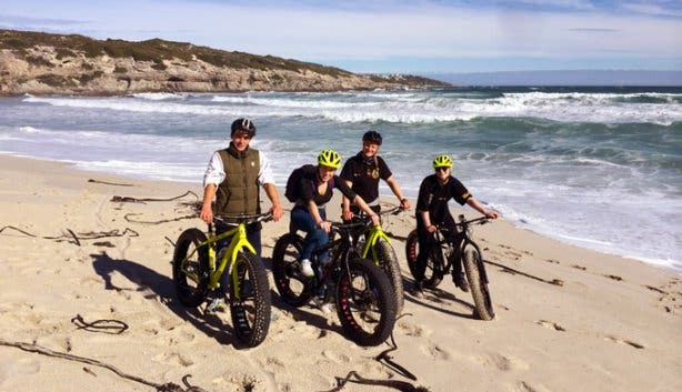Fatbike Beach Cycle Tours Gansbaai