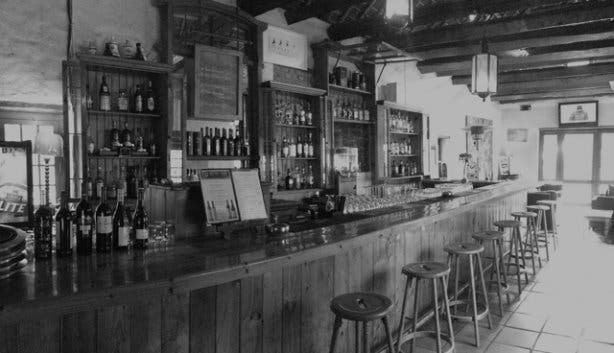 Annie's Arms historic bar at Wild Fig in Obs