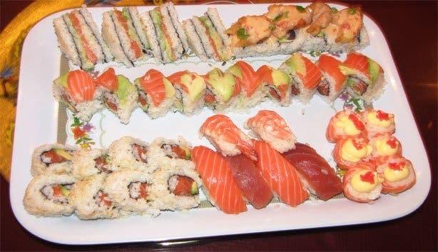 Mr Chan Restaurant platter