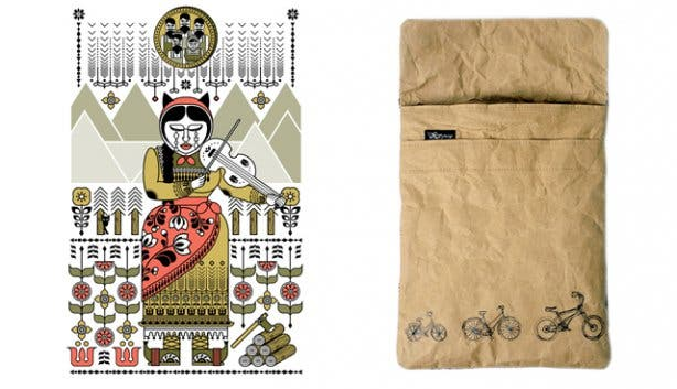 Prints and illustrations from Kin online shop
