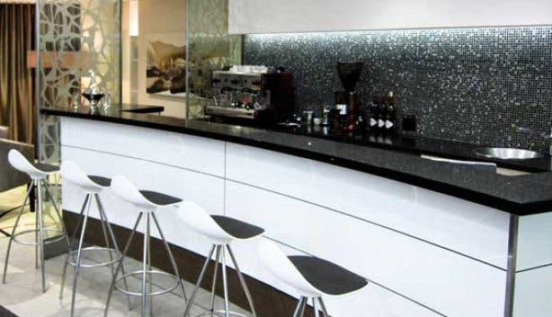 Coffee Bar in Shimansky showroom at the Waterfront
