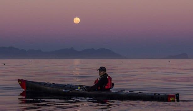 Moonlight Full Moon Kayak in Simon's Town