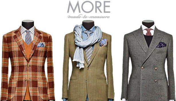 More made-to-measure jackets